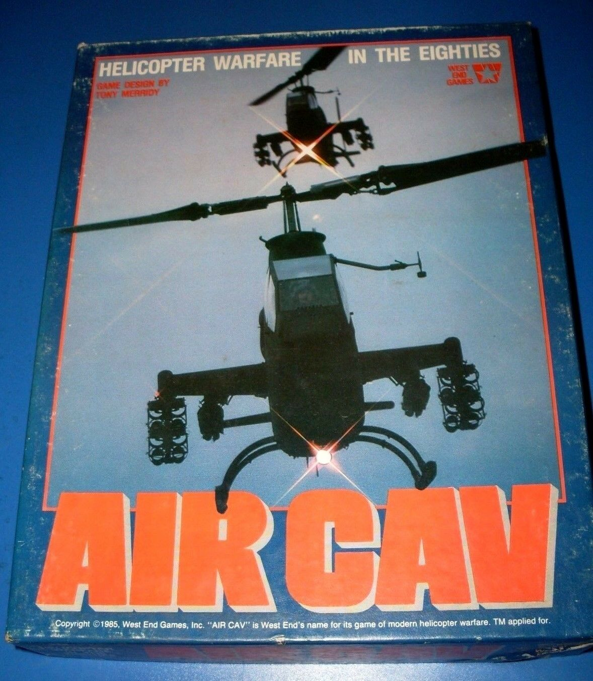 AIR CAV by West End Games nm unpunched Helicopter warfare in the '80s
