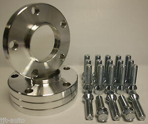 4 X 15MM HUBCENTRIC ALLOY WHEEL SPACERS + BOLTS FIT AUDI A3 S3 MK1 97-03 8L