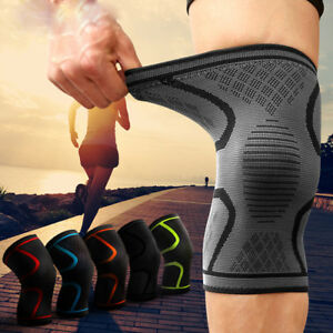 US-Knee-Support-Pad-Brace-Open-Patella-Injury-Arthritis-Kneepad-Sport-Protector