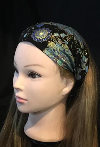Indian Henna Mandala Paisley Flowers Hair Head Band Bandana Scarf feeanddave