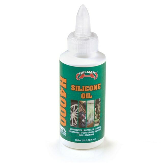 Helmar H4000 Silicone Oil 100ml for Sporting Equipment Machinery Treadmill  Belts