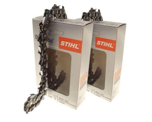 2x37cm Stihl Rapid micro cadena para Stihl ms361 motosierra sierra cadena 3//8 1,6