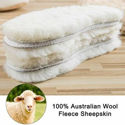 Keep Warmth Winter Insoles Made of 100/% Sheep Wool For Shoes Boots Footwear