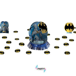 Batman Party Supplies Table Decorating Kit With Confetti 13051481568