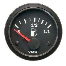 VDO Vision Fuel Level 52mm Gauge for Dip Tube Sender