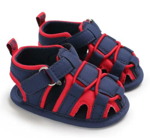 Baby Boy Pram Shoes Infant Summer Sandals First Shoes Toddler PreWalke Trainers