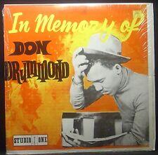 LP DON DRUMMOND - in memory of, JAM-Press