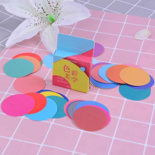 46pcs color aesthetics paper decor diy diary scrapbooking label sticker CN