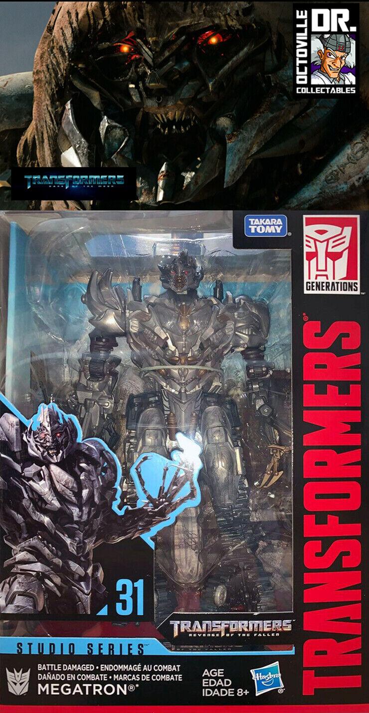 Transformers HASBRO Studio Series SS-31 BATTLE DAMAGED Megatron ESCLUSIVO NUOVO