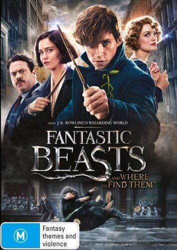 1 of 1 - FANTASTIC BEASTS and Where to Find Them : NEW DVD