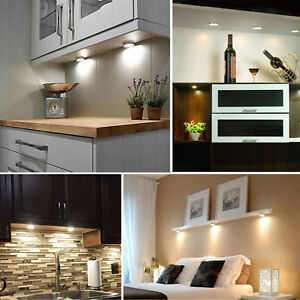 Details About 3 6x Energy Saving Led Under Cabinet Lighting Kit Warm Cool White Cupboard Light