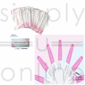 50 X Test di fertilità con ovulazione e 10 X test di gravidanza a flusso medio