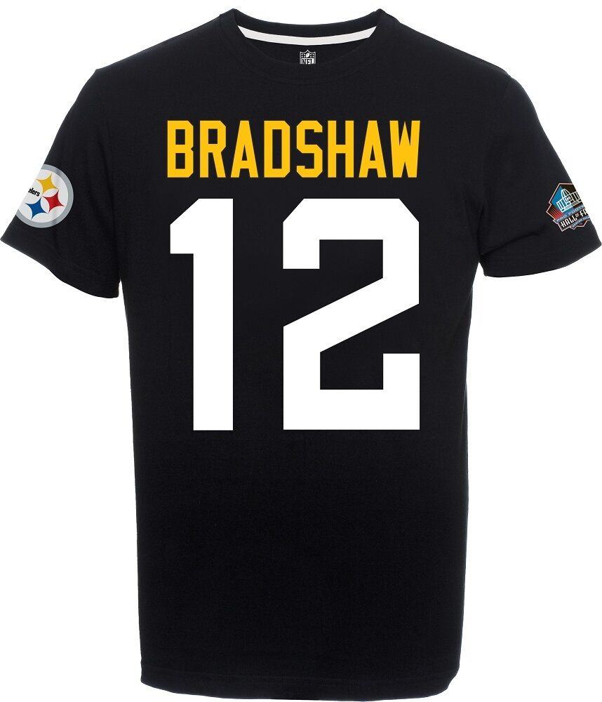 NFL Football T-Shirt SUPERBOWL Champions Champions Champions PITTSBURGH STEELERS Terry Bradshaw  12 c04e66