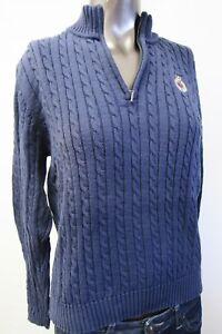sale retailer 361af c56ed Details zu Croft & Barrow,Neuwertig,Damen,Pullover,Blau,M(USA),Gr.40