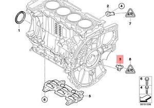 Details about Genuine BMW F20 F20N F21 F21N Crankshaft Position Sensor CPS  OEM 13627561753