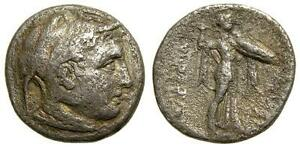PTOLEMAIC-KINGS-of-EGYPT-Ptolemy-I-Soter-AR-Drachm-Very-Rare-4450