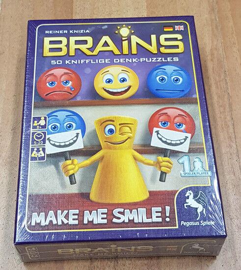 PEGASUS SPIELE Brains - Make me Smile Smile Smile NEU OVP 8b54cd