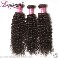 300g Unprocessed Filipino Curly Hair Bundles 100% Filipino Human Hair Extensions