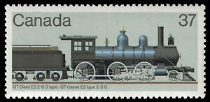 CANADA-1038-Historical-Locomotives-034-GT-Class-E3-2-6-0-034-pf66645