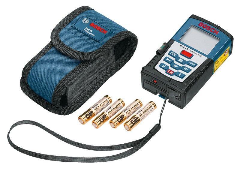 Bosch Laser Entfernungsmesser DLE 70 Professional inkl. Schutztasche DLE70