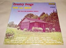 Reno and Smiley Country Songs Vocal Instrumental Sealed LP King 701 Bluegrass