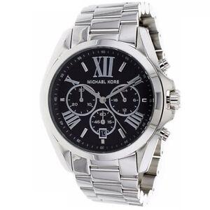 Details zu Neu Michael Kors MK5705 Unisex Bradshaw Silberfarbenes Armband Zifferblatt Uhr