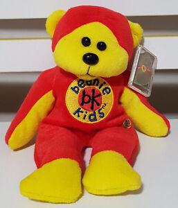 BEANIE-KIDS-BEANIE-MASTER-10-YEAR-BEAR-PLUSH-TOY-TEDDY-BEAR-SOFT-TOY-GOLD-TAG