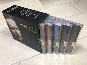 5-CD-Box-Cofanetto-Stock-PAOLO-CONTE-IT-039-S-WONDERFUL-nuovo