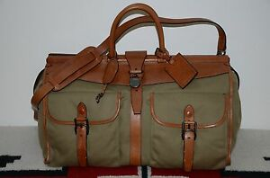 936f405bb8 Image is loading Ralph-Lauren-Gentleman-039-s-Leather-amp-Canvas-
