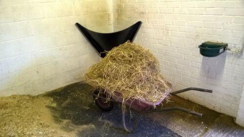 Hay bar Flexible Stable Hay Feeder Corner Mounted Horse