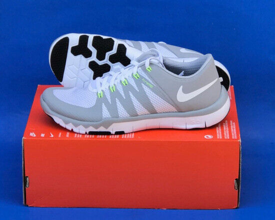 promo code fbd41 12d1b MENS NIKE FREE TRAINER 5.0 V6 TRAINING SHOES / SIZE 9.5 / WHITE-WOLF GREY