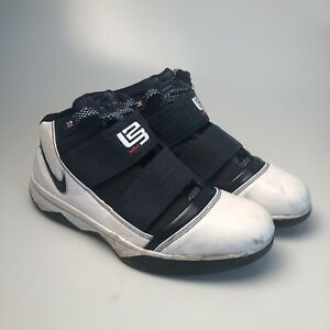 release date: 0bb70 d4c6d Details about Men's Nike Zoom Lebron 3 Blue White Basketball Shoes  (354815-141) - Size 13
