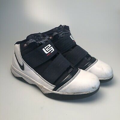 huge discount dbcb2 55cd4 Men's Nike Zoom Lebron 3 Blue White Basketball Shoes (354815-141) - Size 13    eBay