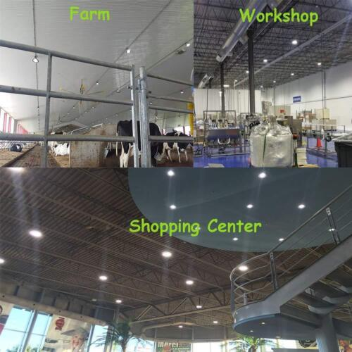 450W HPS//HID Equiv. 150W Warehouse Shop Light LED Dimmable UFO High Bay Light