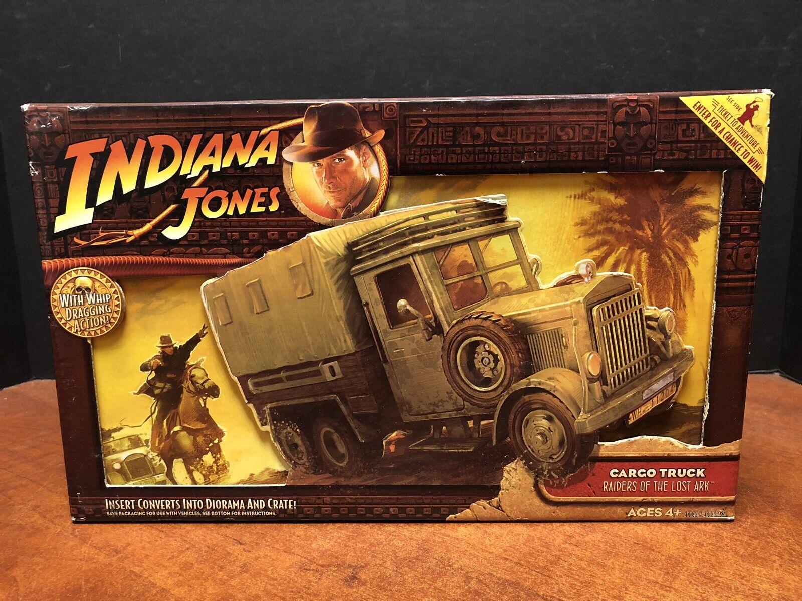 Indiana Jones Raiders of the Lost Ark camión de Cochega que 0916