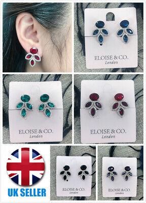 Sequin dangle drop earrings \u2013 Multi Coloured Glam costume jewellery great birthday gift Statement pendant Sparkle Shine Bright jewelry