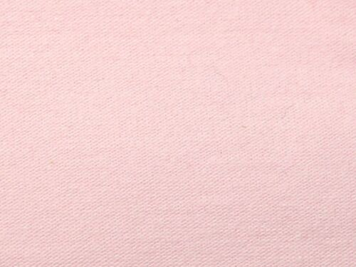 Sold per metre Baby Pink Cotton Spandex Jersey Knit Fabric