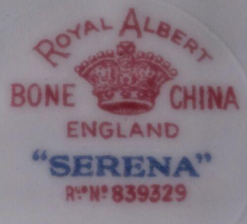 "1940/'s Royal Albert SERENA #839829 Bone China Roses Gold 5 1//2/"" Fruit Sauce Bowl"