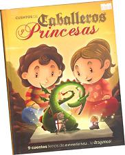 LIBRO DE CUENTOS DE CABALLEROS Y PRINCESAS, EN ESPAÑOL
