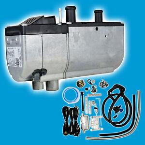 Eberspaecher-Standheizung-4KW-B4WS-Hydronic-Benzin-mit-Universaleinbausatz