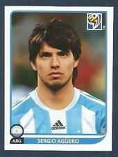 PANINI-SOUTH AFRICA 2010 WORLD CUP- #121-ARGENTINA-MANCHESTER CITY-SERGIO AGUERO