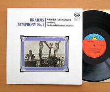 SDBR 3437 Brahms Symphony no .1 Furtwangler Berlin Philharmonic Everest NM/EX
