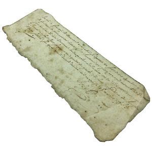 1763-Authentic-European-Document-Legal-Work-Paper-Handwritten-Old-Manuscript