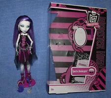Monster High Spectra Vondergeist Basic 1st Wave muñeca Doll lot with Box/con embalaje original