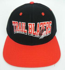 PORTLAND-TRAIL-BLAZERS-NBA-VINTAGE-FLAT-BILL-SNAPBACK-RETRO-2-TONE-CAP-HAT-NWT