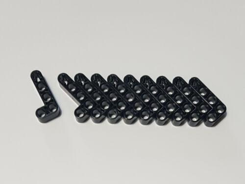 10x LEGO nuovo Technic liftarm 2 x 4 L-FORM NERO 32140 spigolose 4120017 NUOVO