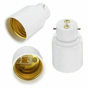 Quality-B22-To-E27-Lamp-Light-Bulb-BAYONET-Cap-Screw-Cap-Blub-Adapter-Converter