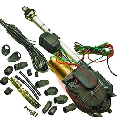 Automatico Elettrico Auto Antenna Audi 80 Cabrio cromo antenna 12v />/> nuovo /</<