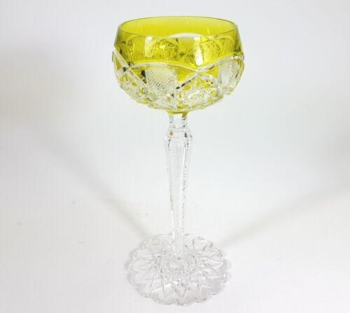 Val St eingestochene Luftblase Lambert Handschliff AL94 Weinglas// Römer