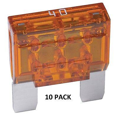 AGU20 FUSES COOPER BUSSMANN 20 AMP MINI GLASS-TYPE FUSE 10 Pack #AGU20-10PK